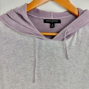 Banana Republic Tops - Banana Republic Color Blocked Knit Hoodie Medium M